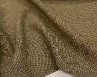 Fabric Overlapped Oriental Flowers Khaki Green Cotton Jacquard Fabric 59 Wide by Yard 18421