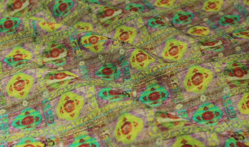 Print ramie fabric light weight ramie fabric by the yard