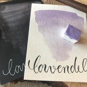 half or whole pot Lavender Shimmer Watercolor