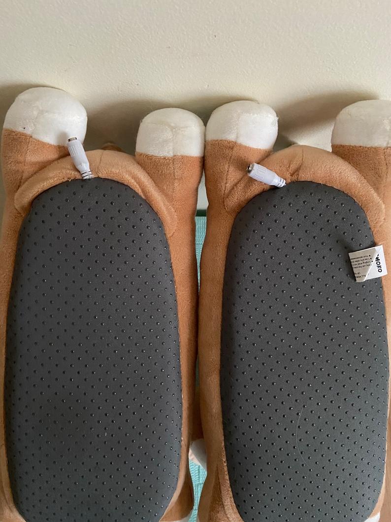 SMOKO USB Heated Corgi Slippers