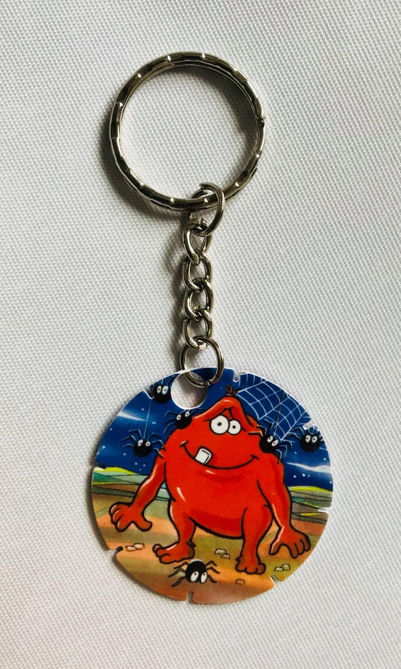 90's Tazo / POG Monster Munch Keyring Retro Gaming Memorabilia (No34 Creepy  Crawly)