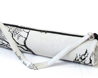 Traditional Sports Bag Gym Bag Indian 100/% Cotton Handmade New Print Yoga Mat Bag Forest Tree Of Life Zip Bag Shoulder With Travel Bag