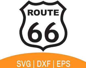 U.s. Route 66 , Free Transparent Clipart - ClipartKey