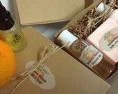 Satsuma Blossom Bath Body Gift Set (Vegan)