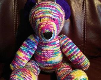 Multi colour bunker bear