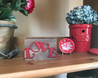Wooden Love Block