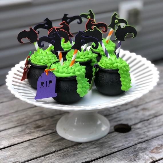 Faux Cauldron Cupcake Fake Cauldron Fake Witches Brew Etsy
