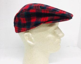 Vintage Pendleton Virgin Wool Golf Cap ab4625895df8