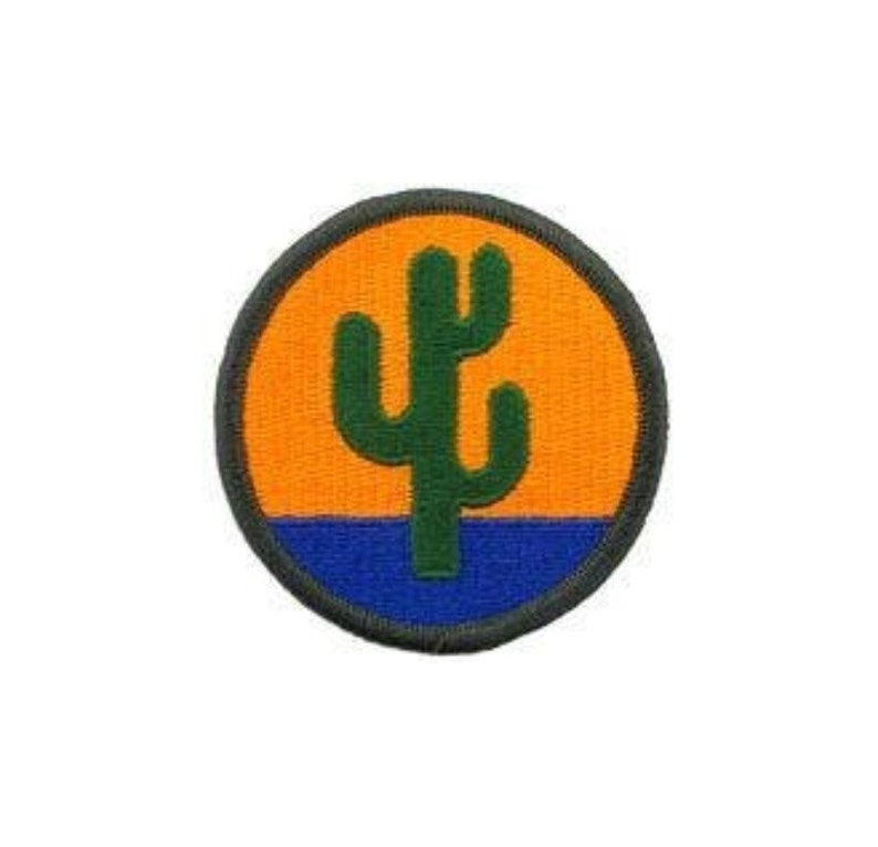 US ARMY 108TH INFANTRY DIVISION PATCH FULL COLOR