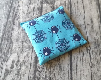 Spider Webs - Medium Wheat Bag