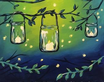 Summer Night Lanterns