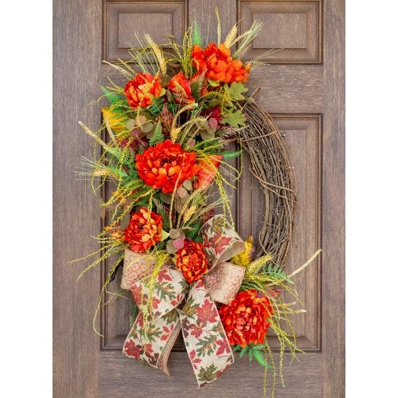 Angel Wreath Grapevine Door Hanger,Angel hanger Angel Door Hager Fall Wreath Fall Wreaths Autumn wreaths Autumn wreath Angels wreaths