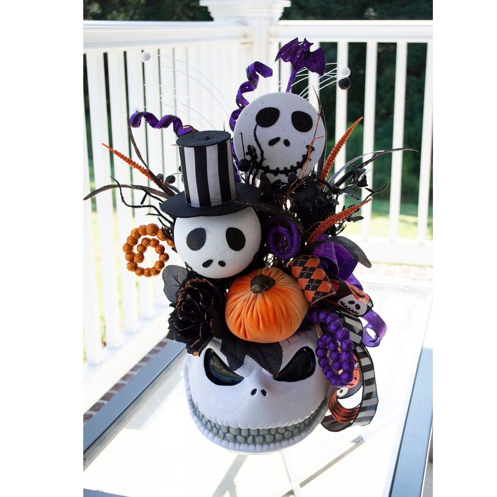 Nightmare Before Christmas Centerpieces