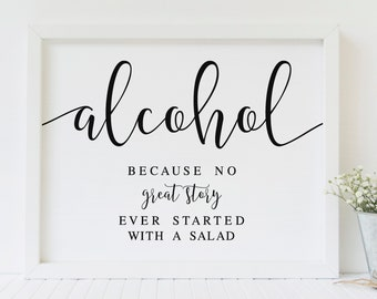 Alcohol quotes | Etsy