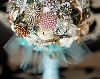 Custom Brooch Bouquet Made to Order
