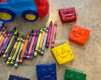 Spongebob Crayons