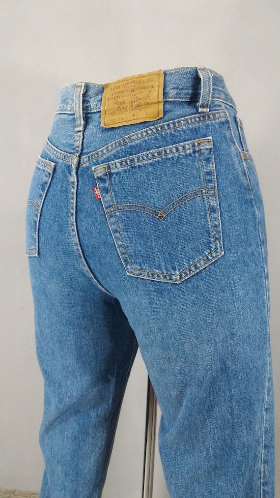Sz 28 Vintage Levis 501 Women S Jeans Sz 28x29 High Etsy