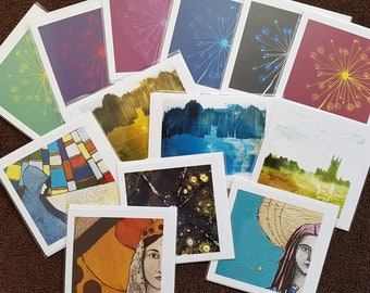 Lucky Dip Set of 6 Cards - Surprise Card Bundle - Greetings Card Stash - Mystery Set - Saver Deal - 6 for the price of 4 - Pot Luck