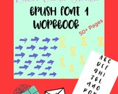 Brush Lettering Workbook,...