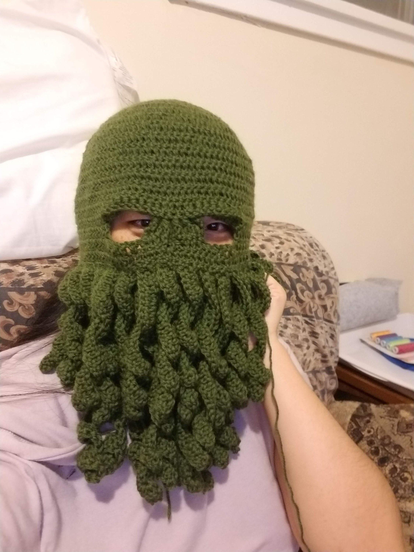 Cthulhu Ski Mask Crochet Pattern Topsimages
