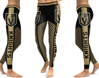 997811b17 Vegas Golden Knights Ice Hockey Women Sports Leggings New Season