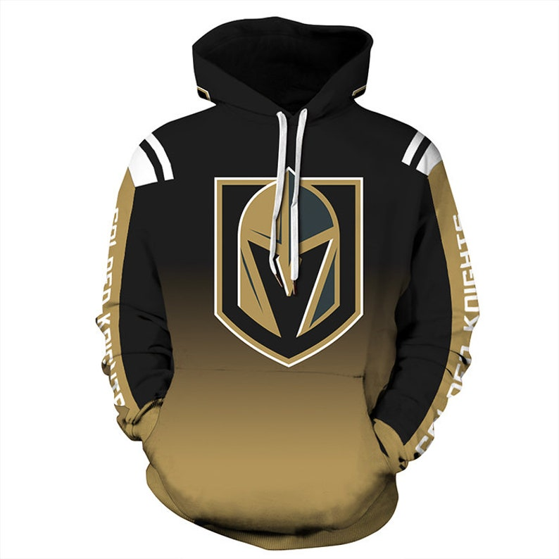 eef64dbad Vegas Golden Knights Hoodie Team Logo Ice Hockey Sweater