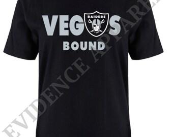 Las Vegas Raiders T-Shirt-Vegas Bound