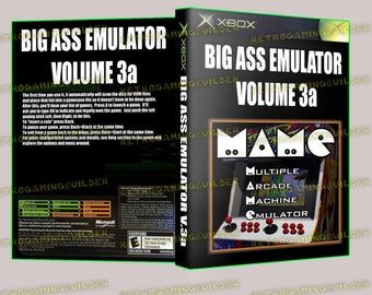 14 Console Emulators for XBOX Bootable Plays From DVD | Etsy