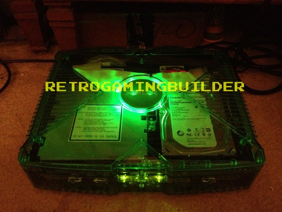 Original Modified Clear Case Xbox 3TB Hard Drive, 1000'S of Games, Xbox  Games and More