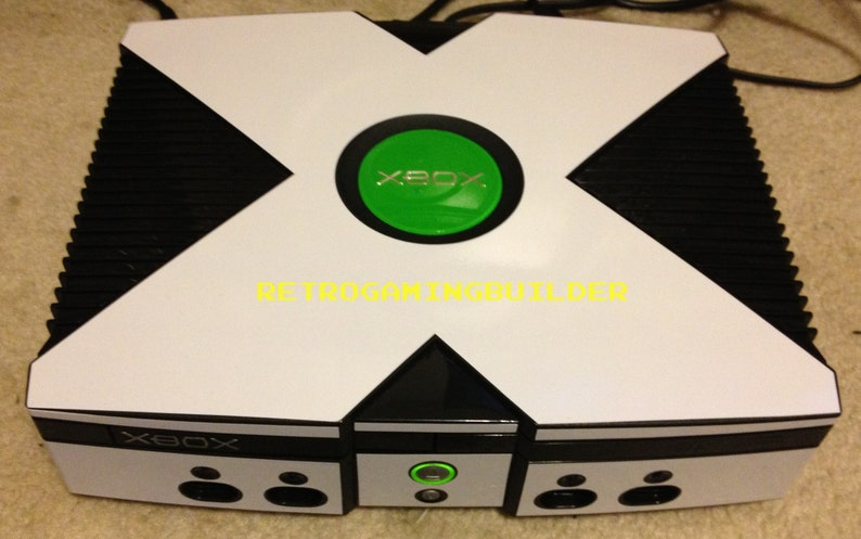 Original Custom White Skinned Xbox 2TB HDD, 1000'S of Games, Xbox Games and  Bonuses