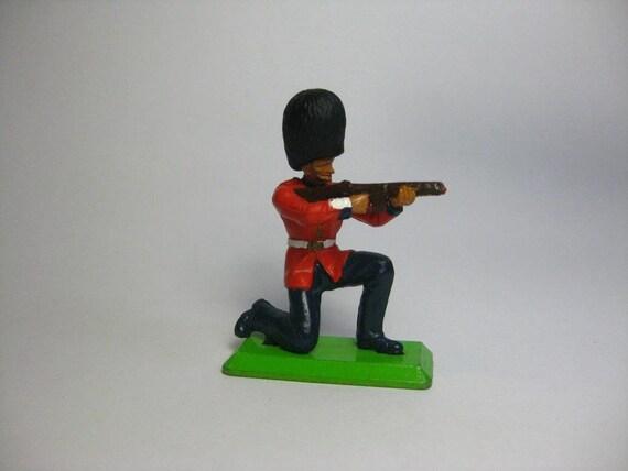 VINTAGES Britains, jouet soldat, «La garde royale britannique» 01:32 figure. Deetail série 1971, miniatures en plastique