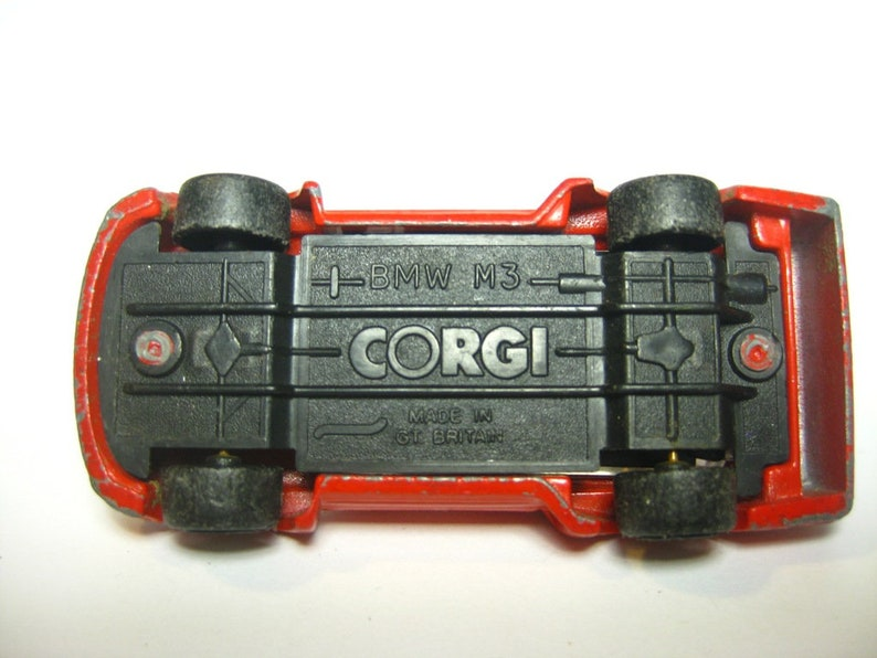 Auto giocattolo d'epoca, Corgi,
