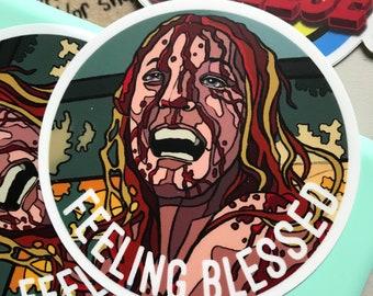 Feeling Blessed Sticker