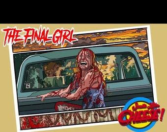 The Final Girl Texas Chainsaw Massacre print