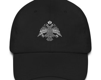 5c27f5eb01567 Orthodox Christian Byzantine Double Headed Eagle Dad hat
