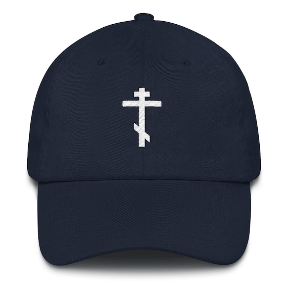 Christian Dad hat Orthodox Cross  cad0ed336103