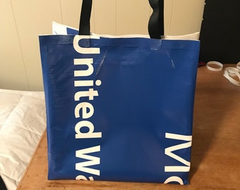 Upcycled Vinyl Banner Tote