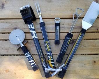 6 Piece - Ultimate Hockey Stick BBQ Set
