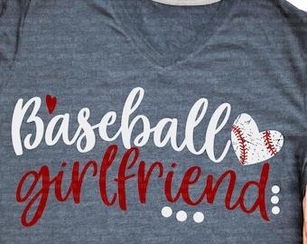 d8708951a1 Baseball girlfriend, Baseball svg, Love svg, Cheer Svg files, Cricut  designs, Iron on transfer, Digital downloads, Dxf prints, Shirt design