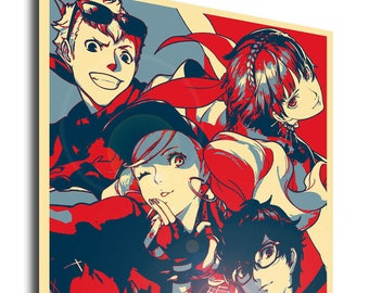 persona 5 poster etsy