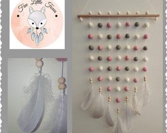 Powder Pink Wall Hanging