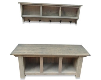 Charmant Cubby Bench   Etsy