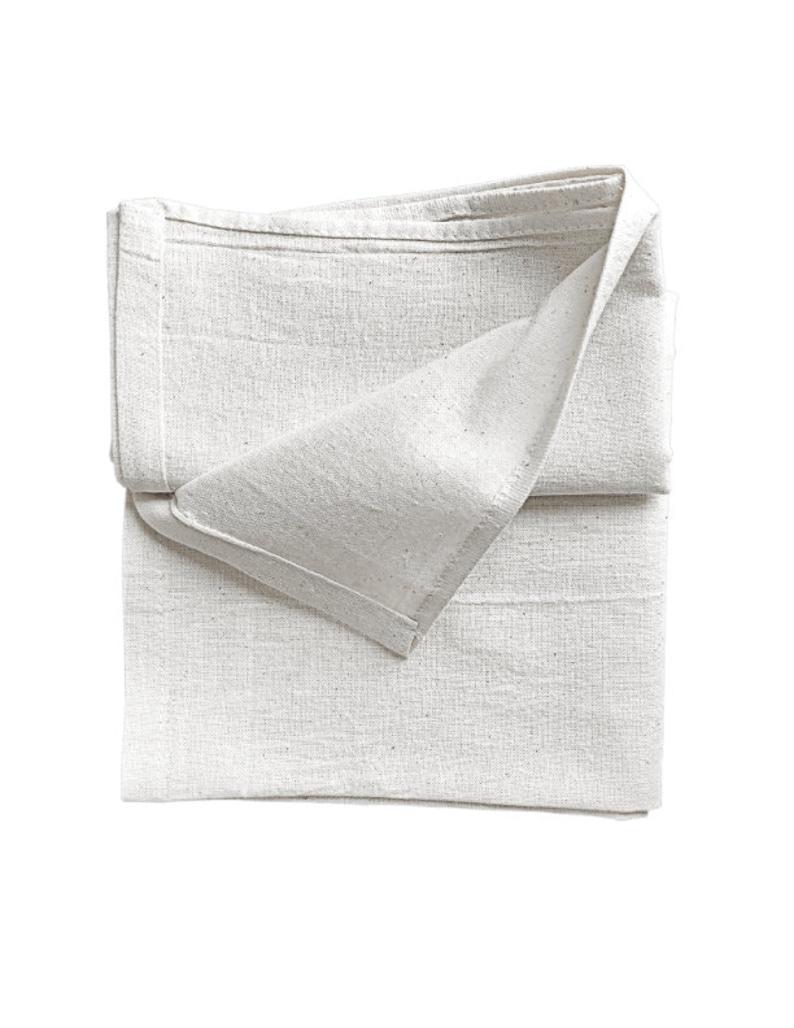 12-PK Natural Organic Flour Sack Towel,Plain,Blank Tea Towels,Dish  Cloths,Kitchen Towel,Dish Towels 28 x 29 100% Organic all sides hemmed