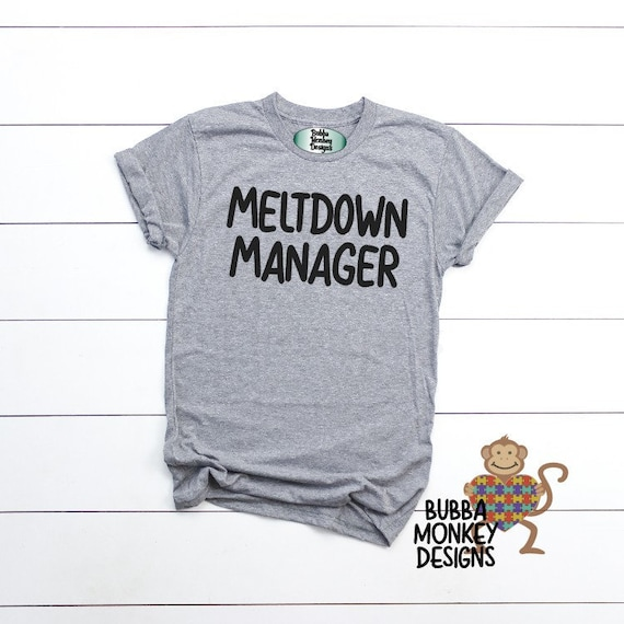 Meltdown manager Fade Resistant t-shirt High Quality Hand Made in USA