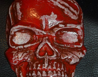 Bloody Red Skull