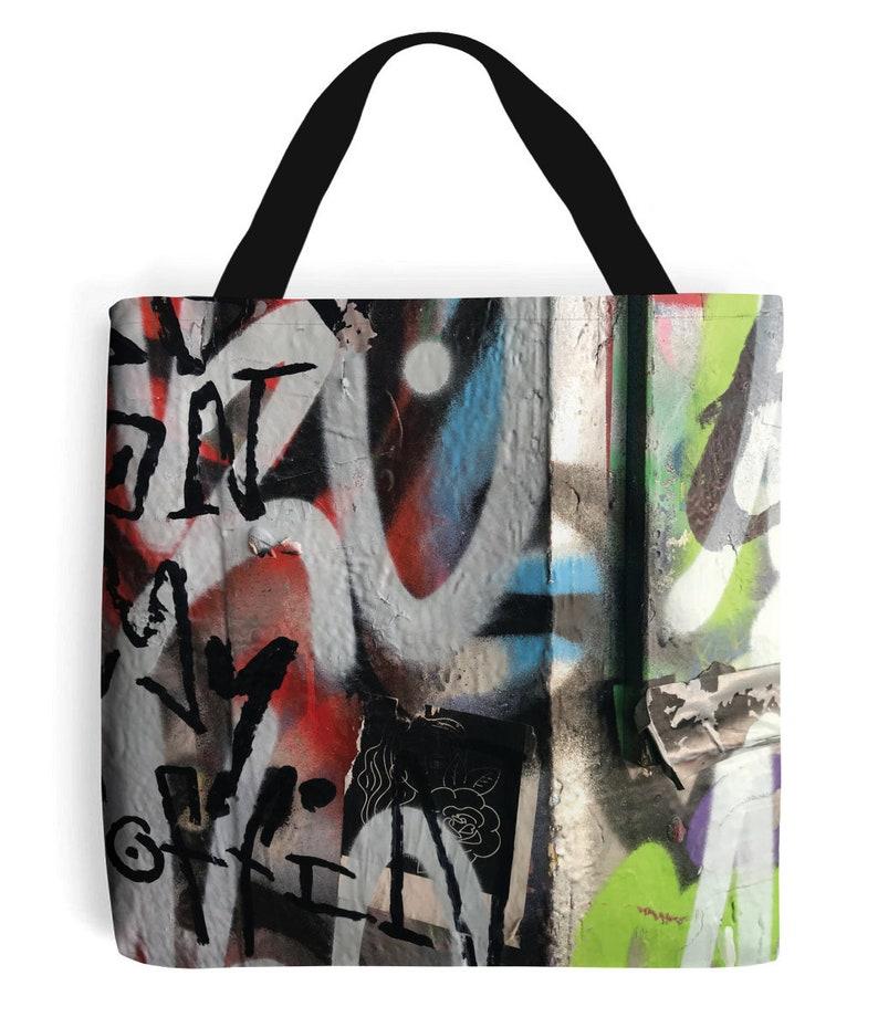 Graffiti 1 Tote Bag image 0