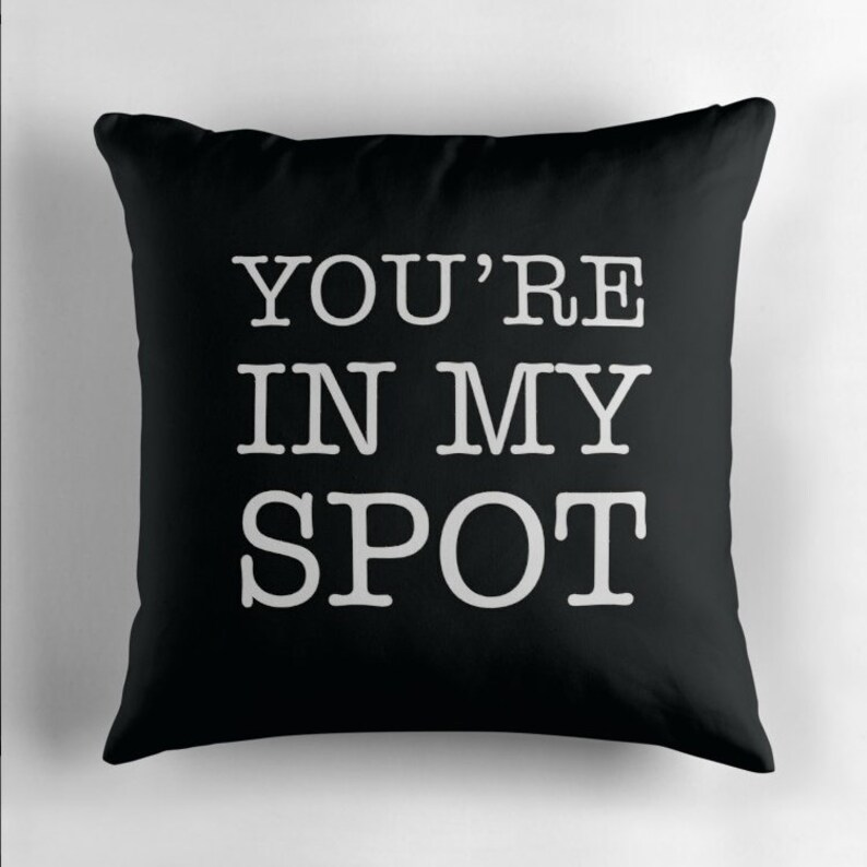 You're in My Spot / This is my Spot Cushion image 0