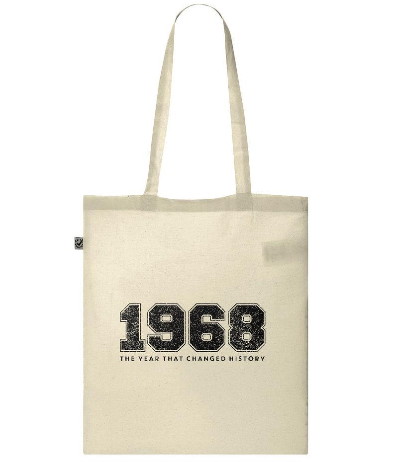 1968 Tote Bag image 0