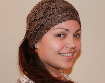 Earwarmer/ Headband in leaf design