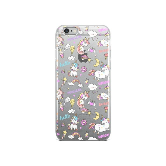 Space Unicorn Pattern iPhone 6/6S Case